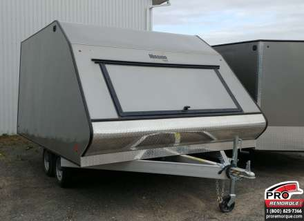 Mission Trailers Crossover Double Pewter, Aluminium