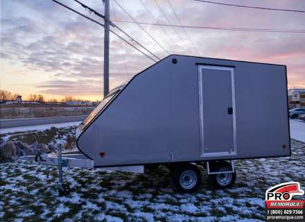 Mission Trailers Crossover Double Silver, Aluminium