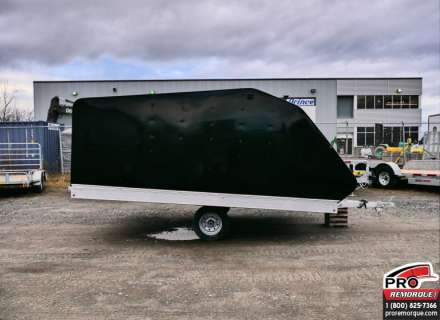 Mission Trailers MFS101X12DL Noir, Double