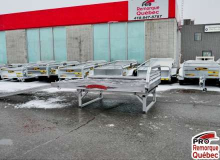 Mission Trailers Sport Sled Deck Plus Motoneige Double, Plus