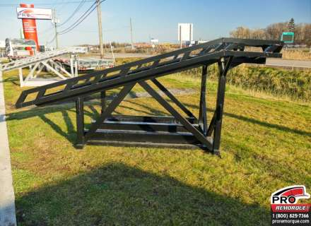 Mission Trailers UTV Rack Noir, Aluminium
