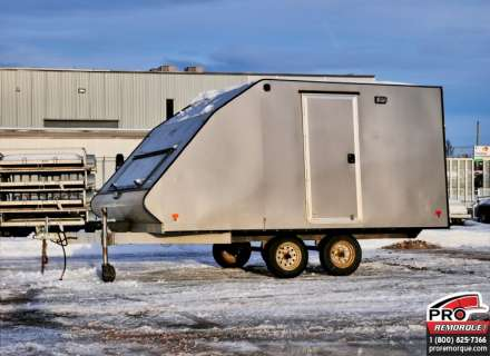 Mission Trailers Crossover Double Charcoal, Aluminium, Usagé