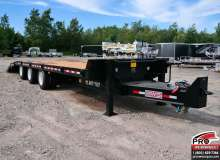 Flatbed trailers BWS 25ART Plate-forme