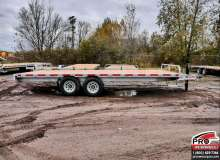 Flatbed trailers K-Trail DKO20-14 Galvanisé