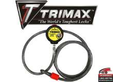Barrure et cadenas TRIMAX  VMAX6 CABLE SECURITE 6' TRIMAX