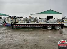 Flatbed trailers Sure-Trac ST10224ABD02A-B-490 Noir